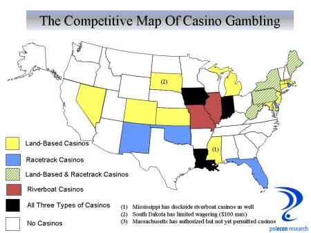 Competitive Casino Map