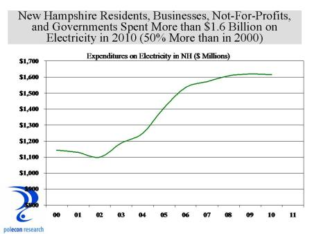 NH Electricity Expenditures
