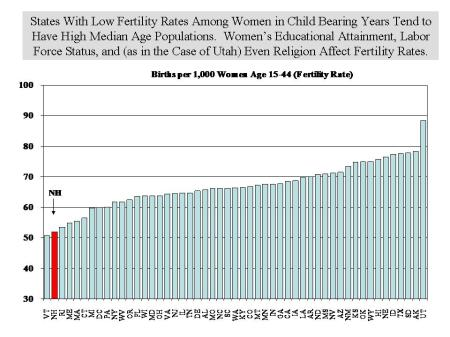 State Fertility Rates
