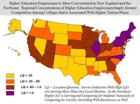Higher Ed Emp Concentrations